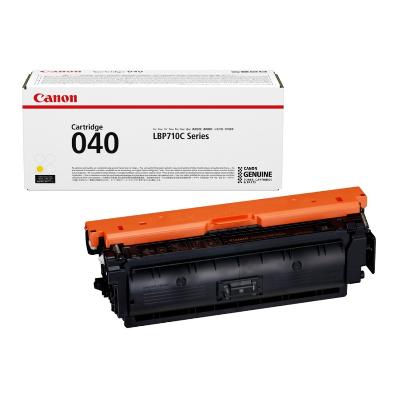 Canon Toner 040, Giallo