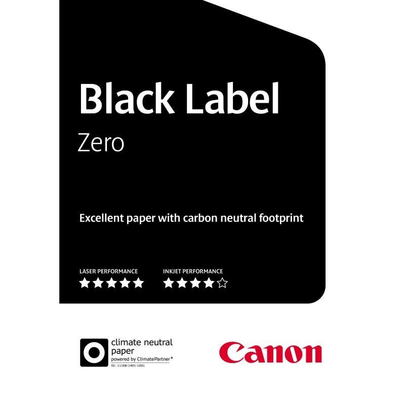 Carta Canon Black Label Zero 80g. A3 500 fogli
