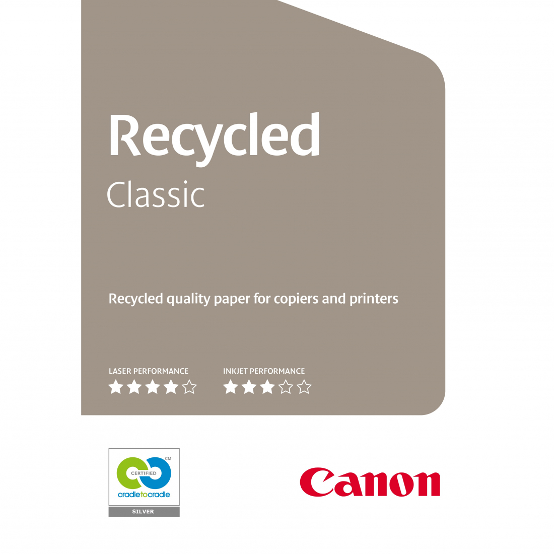Carta Canon Recycled Classic 80g. A4