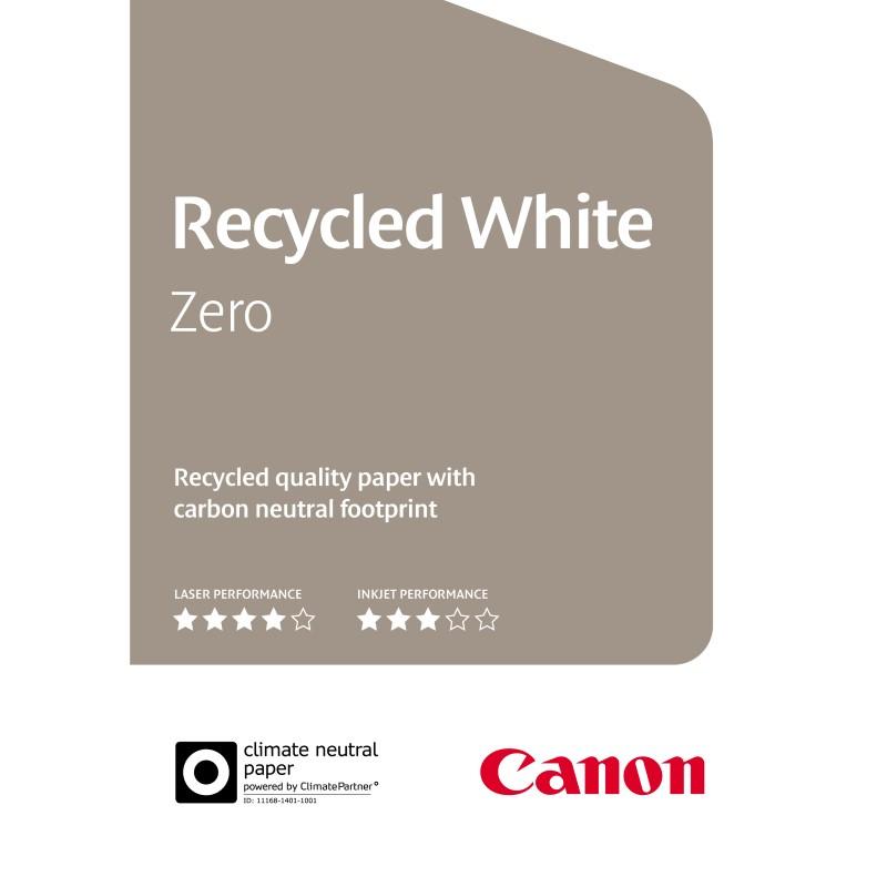 Carta Canon Recycled White Zero 80gr. A4 500 fogli
