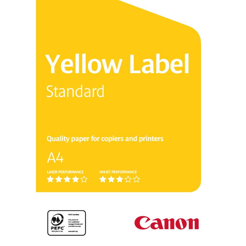 Carta Canon Yellow Label Standard 80g. A3