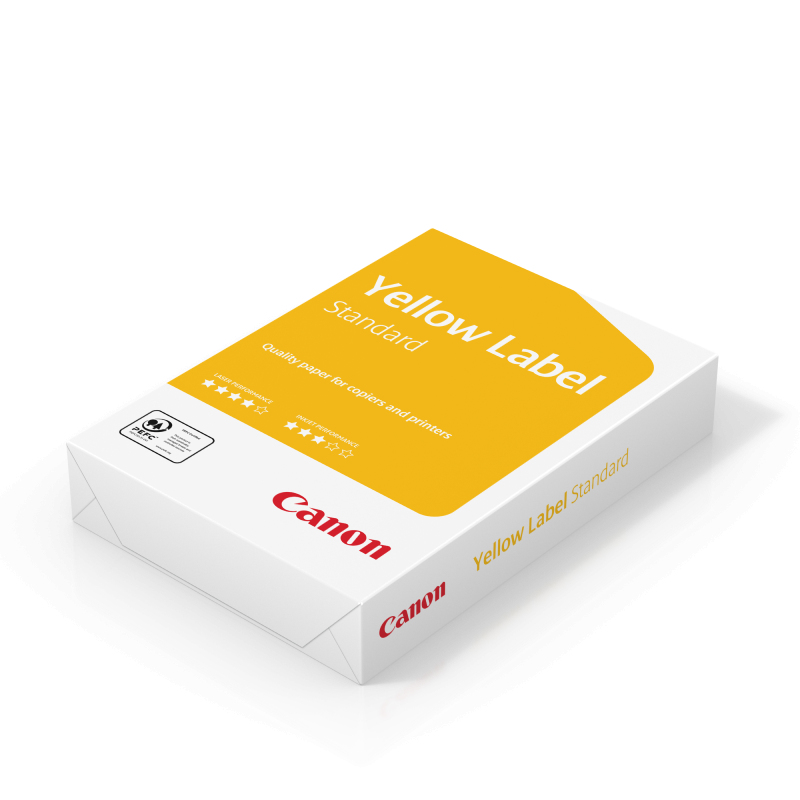 Carta Canon Yellow Label Standard 80g. A4