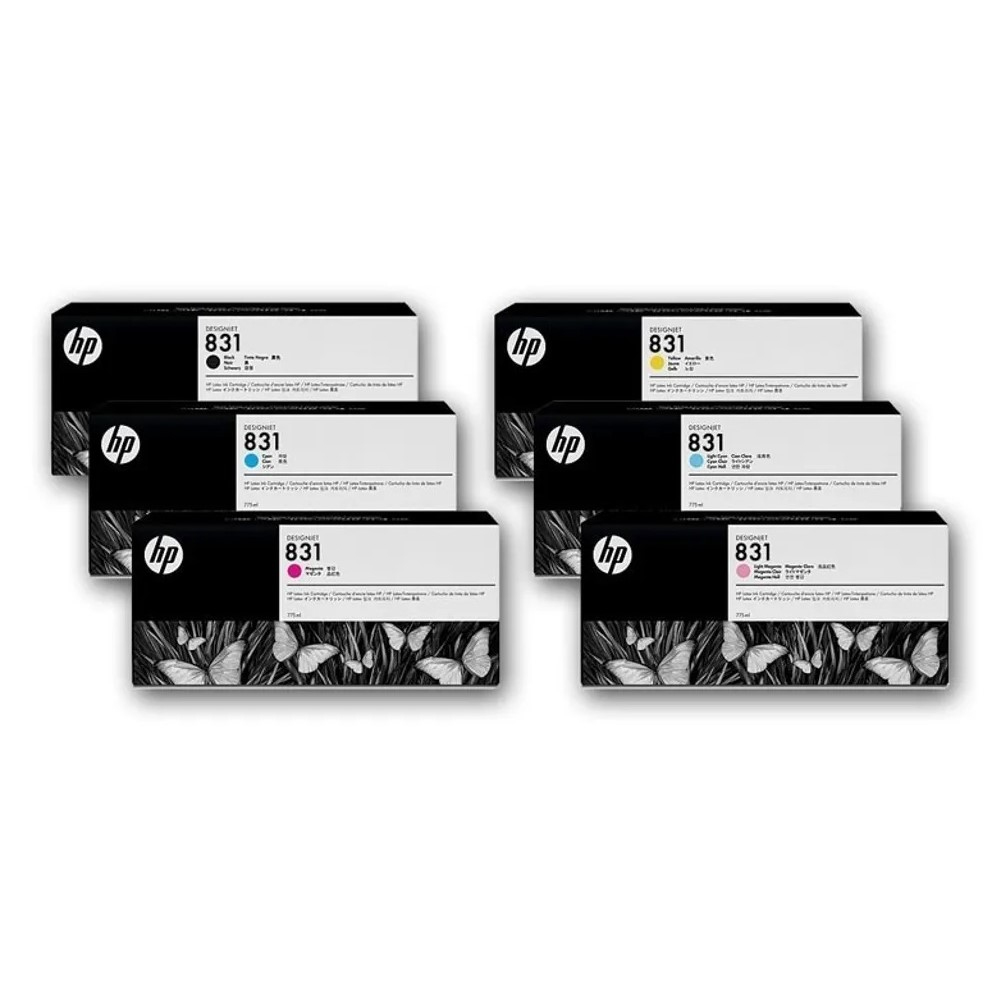 Cartuccia HP 831C ciano chiaro 775ml Latex 310/330/360
