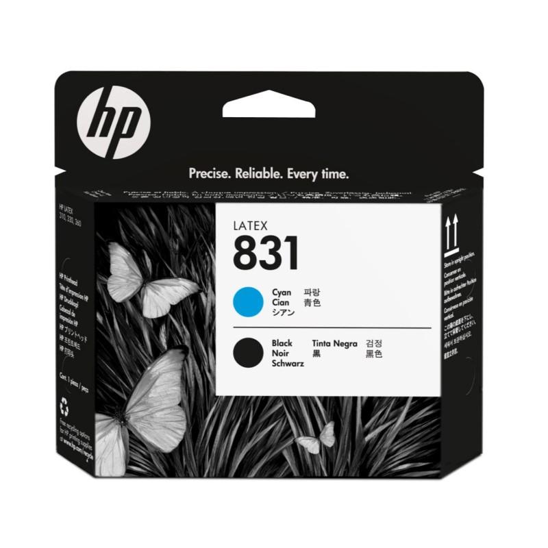 Testina HP 831 ciano/nero  HP L310/330/360