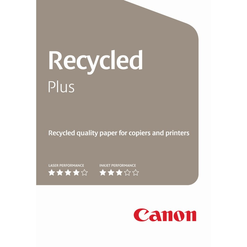 Carta Canon Recycled Plus CIE 110 A4 80g/m2