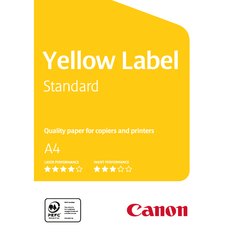 Carta Canon Yellow Label Standard 80g. A4